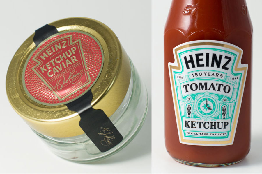 Heinz Caviar campaign  and F+M 150yrs sauce Post Image
